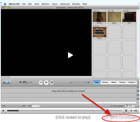 iMovie tutorial