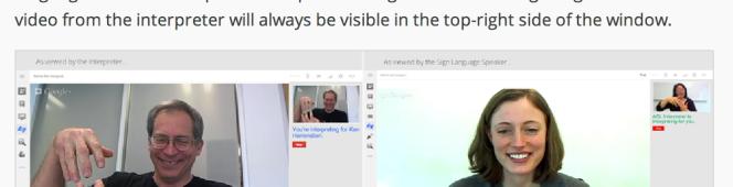 Google Hangouts: Live InterpreterApp